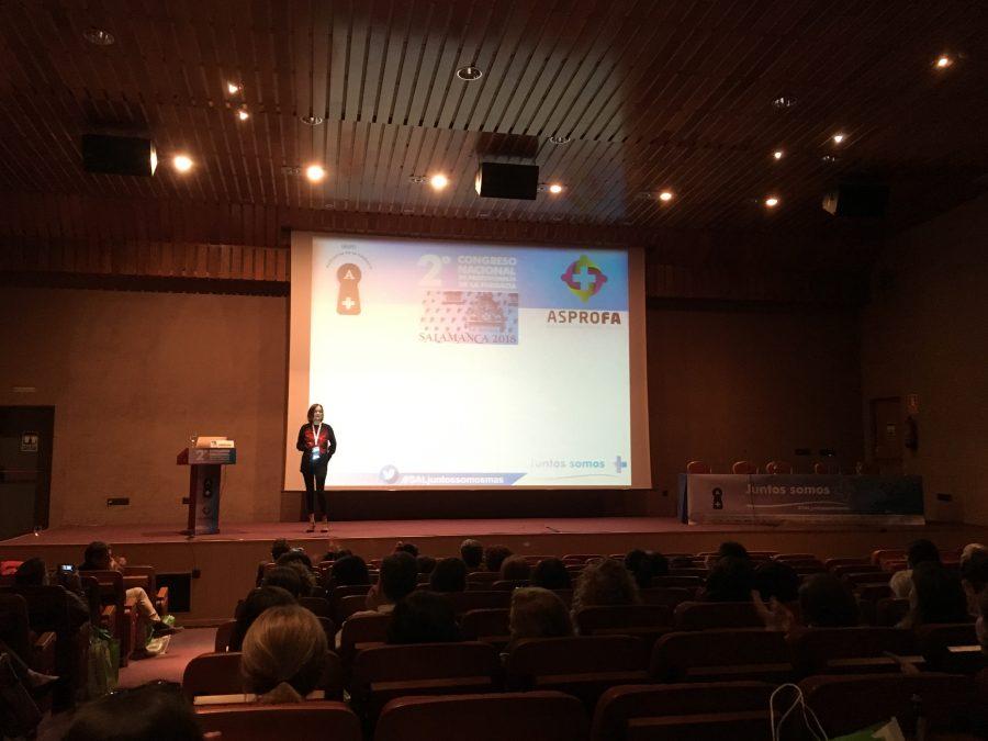 Asun Arias Congreso Salamanca