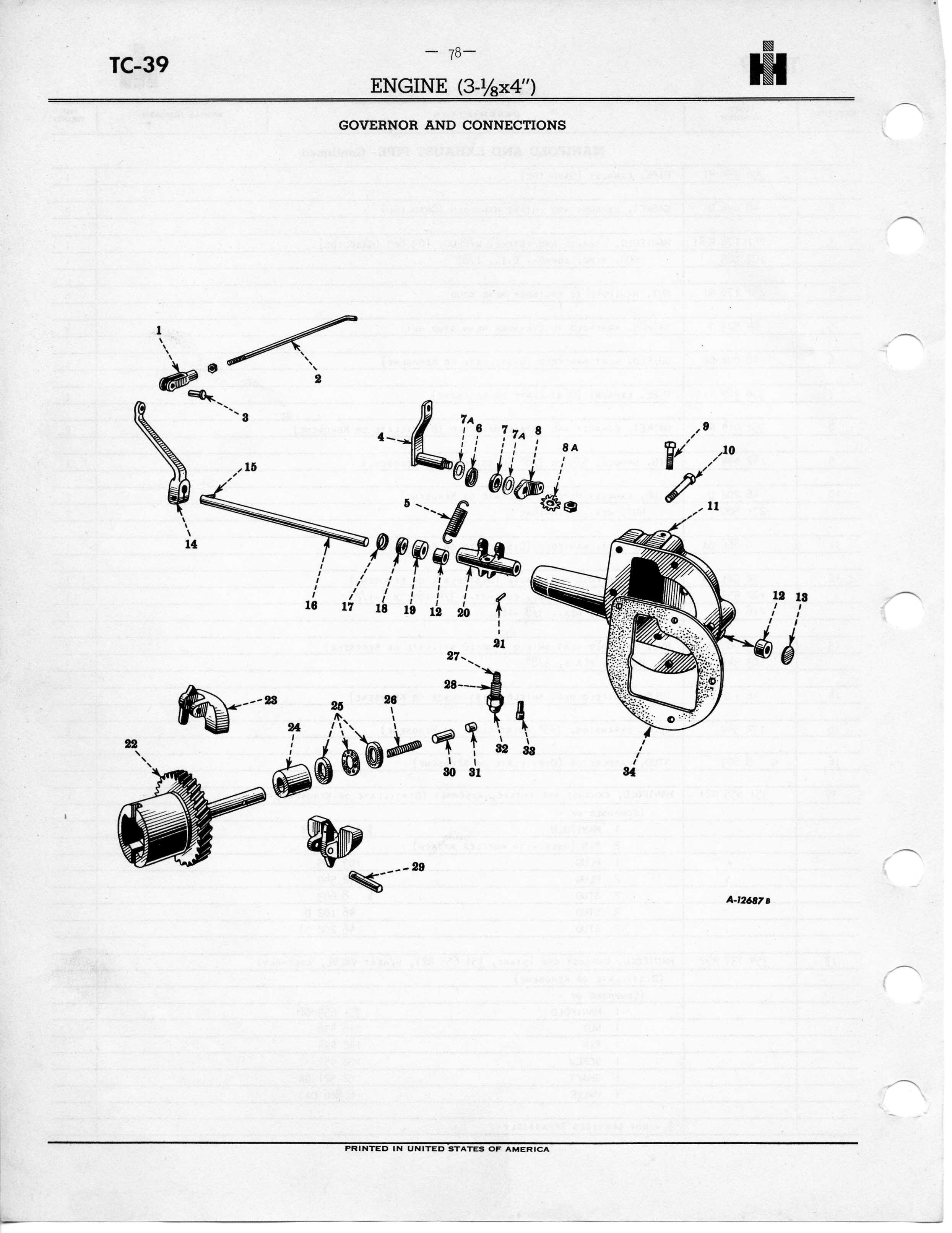Farmall 140 Parts Diagram