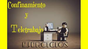EJERCICIO Y TELETRABAJO