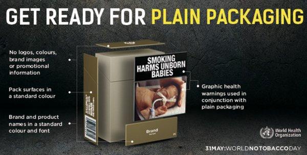 WHO Sarankan Pemerintah Gunakan Standarisasi Kemasan Rokok Polos