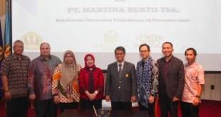 Martina Berto dan Farmasi Unpad Kembangkan Penelitan Bahan Aktif Natural Pencerah Kulit