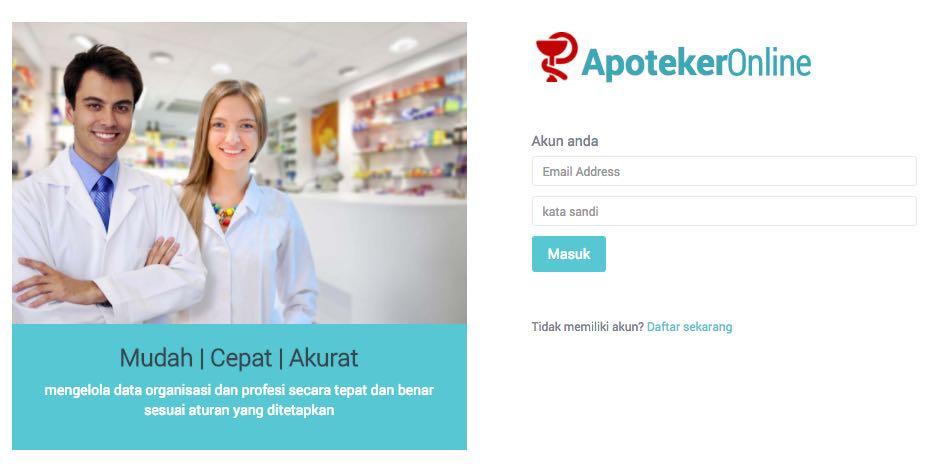 PD IAI Jabar Luncurkan Sistem Re-Sertifikasi Apoteker Online Bisa Untuk Seluruh Indonesia