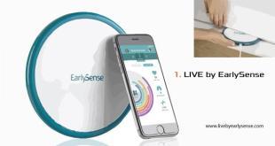 Perangkat LIVE yang disisipkan di bawah kasur pasien dapat memantau vitalitas pasien dan pembacaannya dilihat melalui aplikasi mobile di tangan perawat dan pekerja rumah sakit. Photo credit: Managed Healthcare Executive/EarlySense