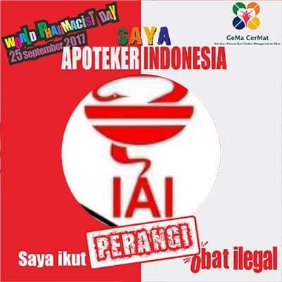 Apoteker Indonesia Perangi Obat Ilegal di Hari Apoteker Sedunia 2017