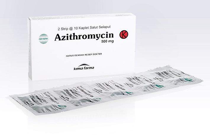 FDA : Penggunaan Jangka Panjang Azitromisin Sebabkan Kanker Kambuhan pada Pasien Tertentu