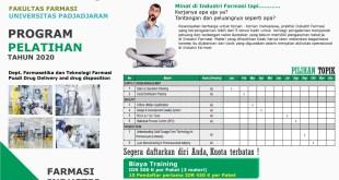 Segera Daftar Pelatihan dan Simulasi Tematik Farmasi Industri di Kampus Unpad!