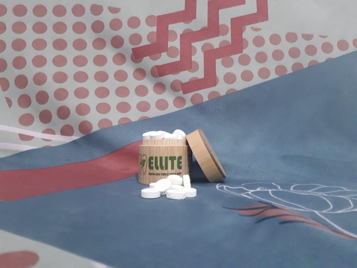 Mahasiswa Unpad Ciptakan Pasta Gigi Bentuk Tablet Ramah Lingkungan