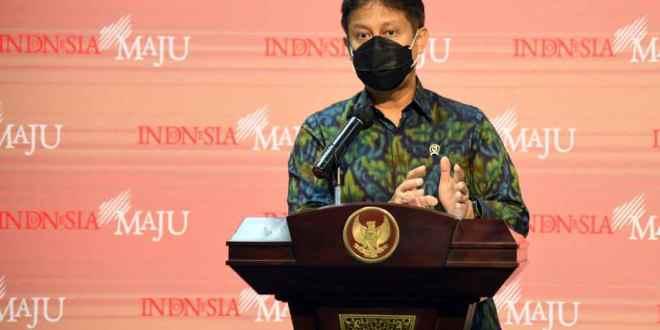 Menteri Kesehatan Budi Gunadi Sadikin saat memberikan keterangan pers di Kantor Presiden, Jakarta, Selasa (29/12/2020). (Foto: Humas/Rahmat/ Setkab.go.id)