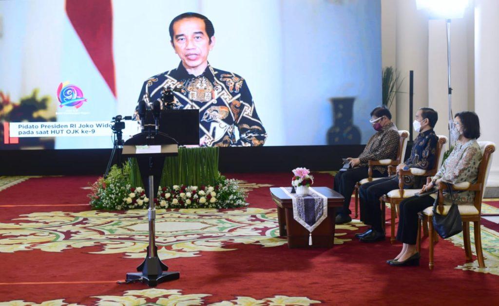 Presiden Jokowi : Vaksinasi Kunci Utama Tangani Pandemi COVID-19