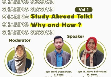 Sharing Session Vol 1 : Study abroad talk! Why and How?