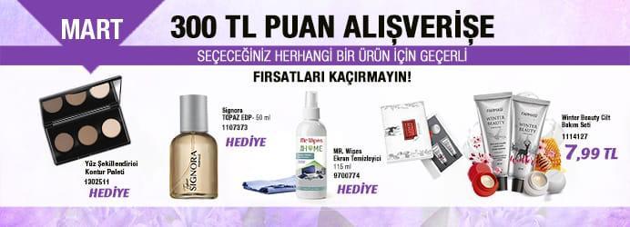 Farmasi 2019 Mart Teşvik Kampanyası
