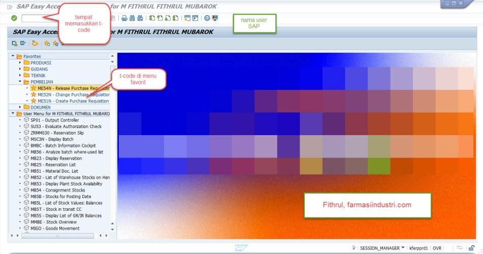 SAP dalam Perusahaan Farmasi