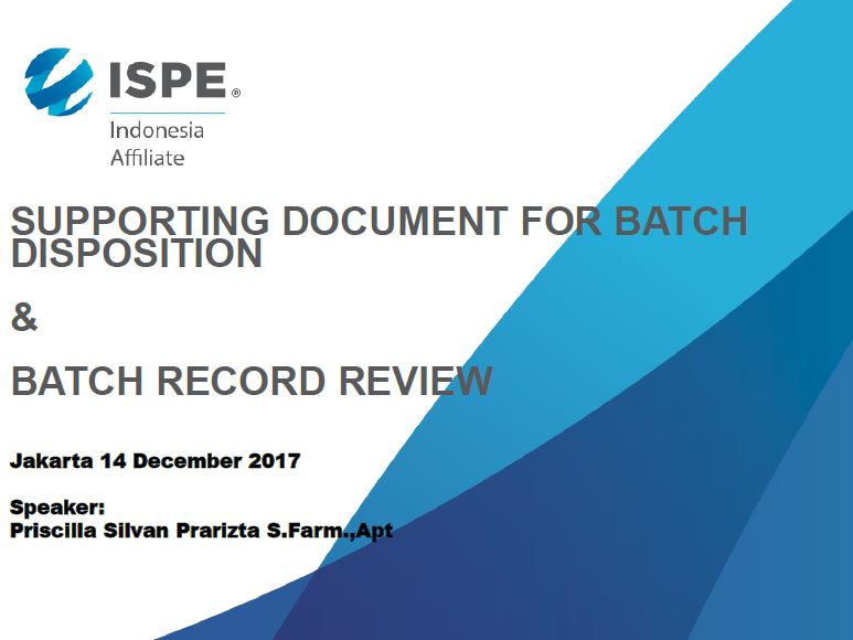 Supporting batch record