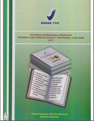 Share Petunjuk Operasional Penerapan Pedoman Obat Tradisional yang Baik 2011