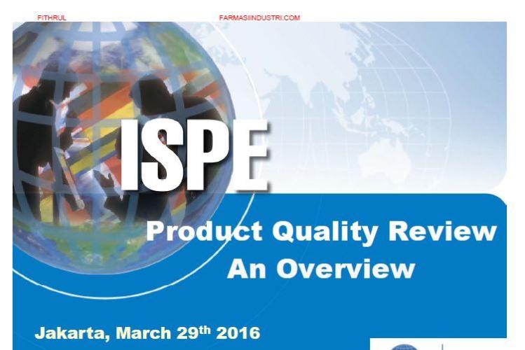 """Share Materi Seminar ISPE """"Metodologi Statistika untuk Pengolahan Data Validasi Proses dan PQR"""""""