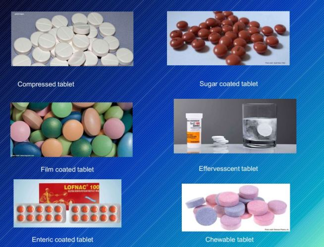 Types Of Tablet