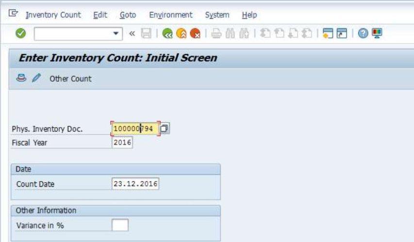 Pengalaman Stok Opname Barang-barang di Pabrik dengan sistem SAP
