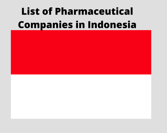 list of pharmaceutical companies in Indonesia