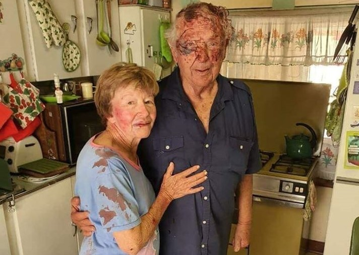 Six farm attackers attacked an elderly couple Gert (81) and Joey ...