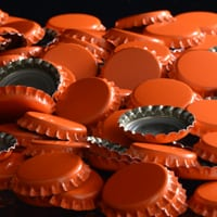 Bottle Caps – Orange