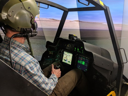 Flying the Apache