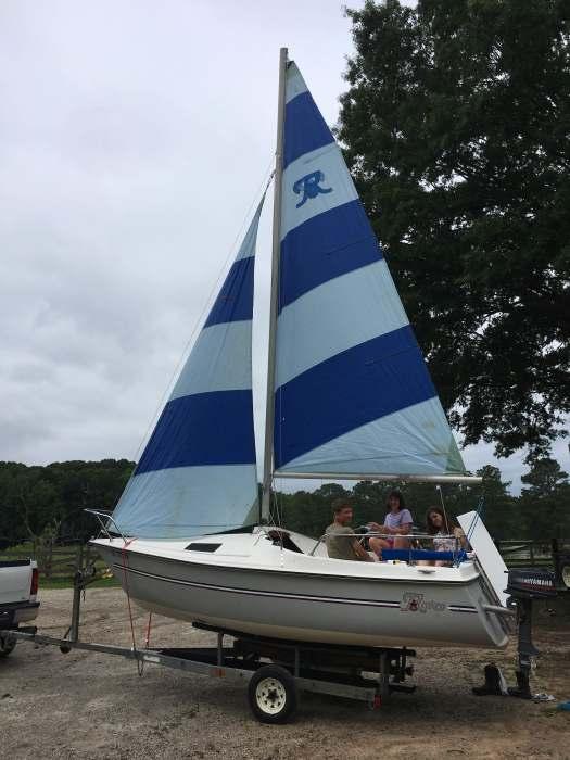 18' Renken sailboat, just needs trailer work