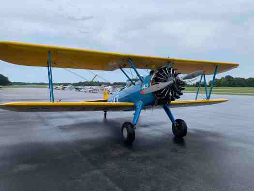 Stearman at HRJ