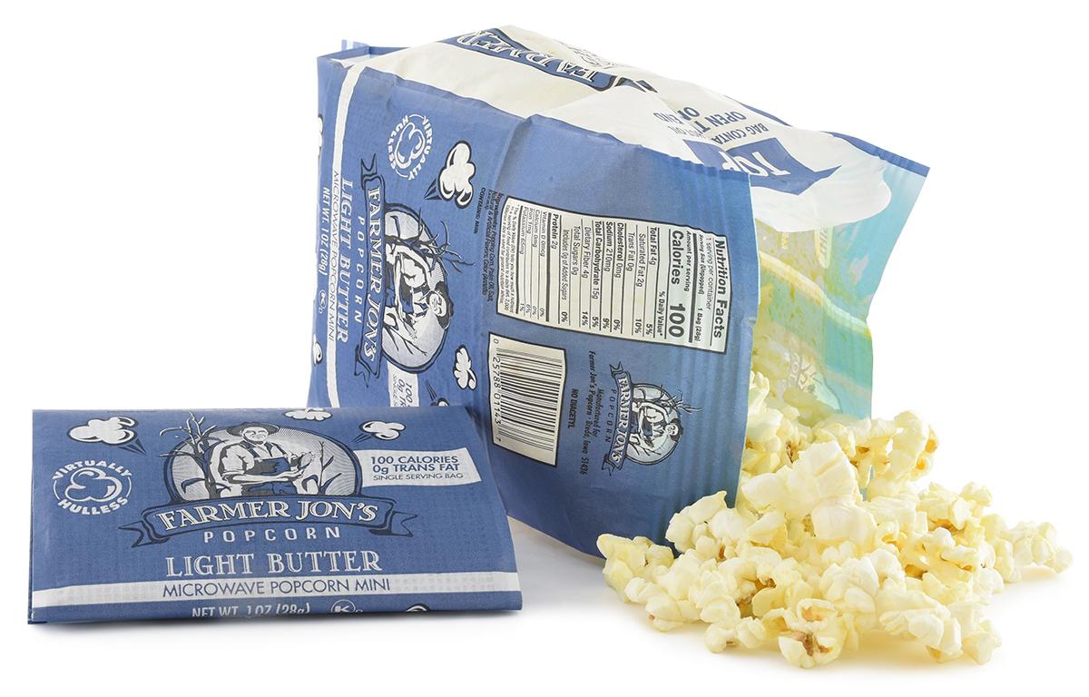 السم يبعد تحلية calories in a bag of popcorn