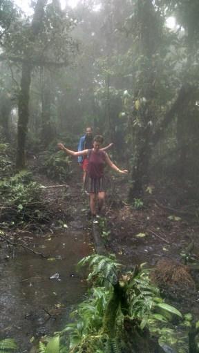 The Cerro Chato, aka super mud hike.