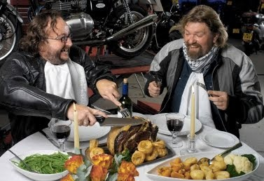 The Hairy Bikers and the Condensed Milk Cake