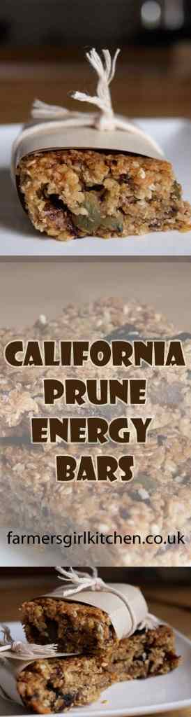 Oats, seeds and prunes make these California Prune Energy Bars