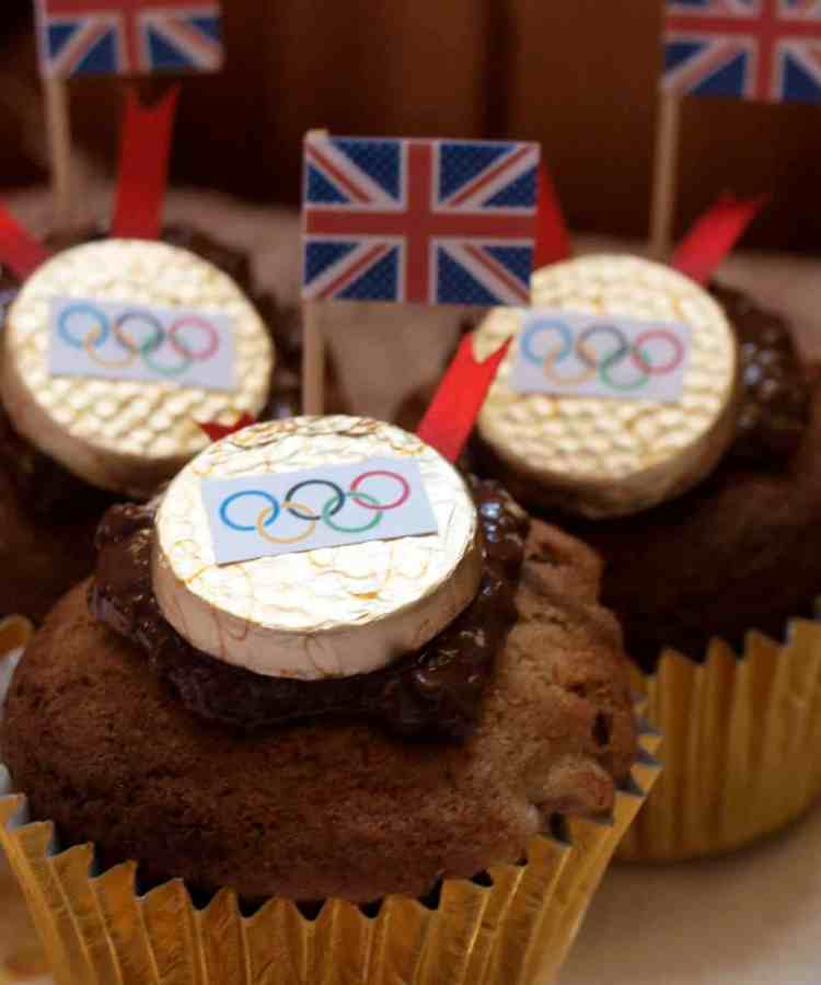 Olympic Medal Muffins
