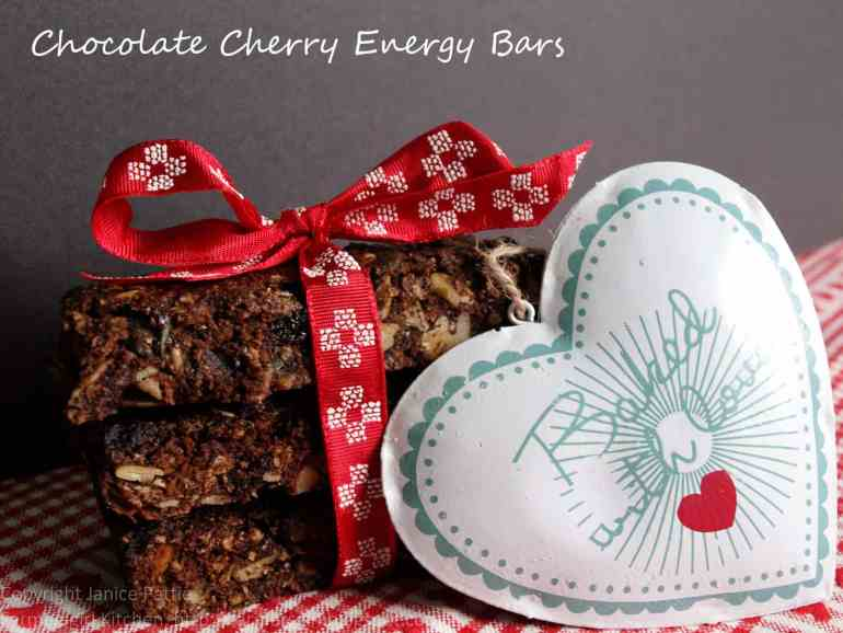 Chocolate Cherry Energy Bars