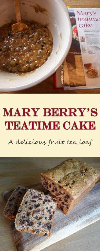 Mary's Tea Time Cake - a delicious tea loaf that's simple to make