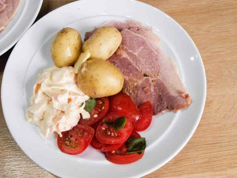 Slow Cooked ham suitable for cold cuts