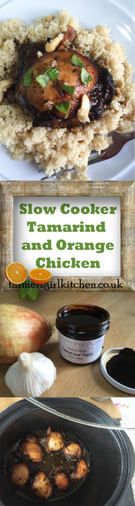 Gently spiced, full flavoured Slow Cooker Tamarind and Orange Chicken