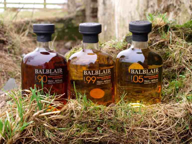 There's a Balblair single malt whisky for every taste, ideal for the ultimate Burns Supper