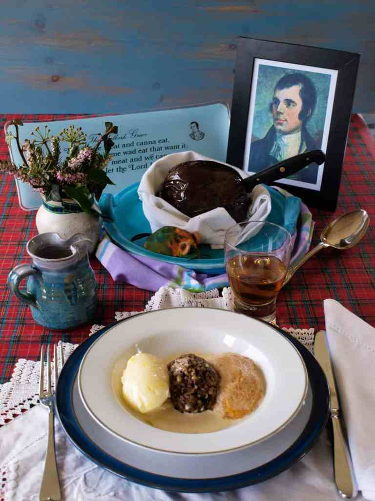 Enjoy Haggis, Neeps and Tatties for Burns Supper