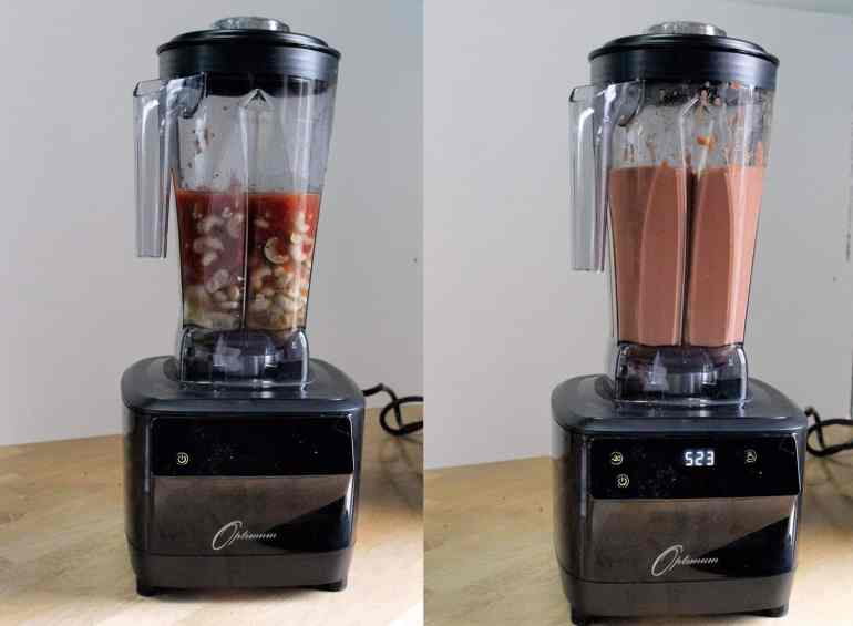 Making Creamy Tomato Soup in the Optimum G2.3 Platinum Series Blender