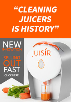 The Froothie Juisir - Cleaning Juicers is History