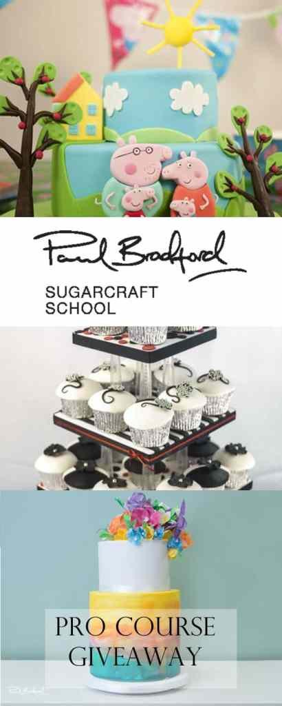 Paul Bradford Sugarcraft School Pro Course Giveaway