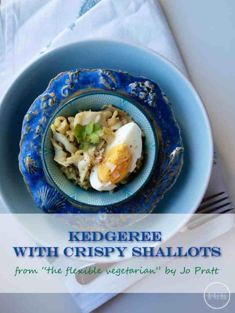 One of the best Kedgeree recipes I've ever eaten, can be served with or without fish