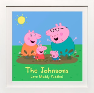 Peppa Pig Family Personalised