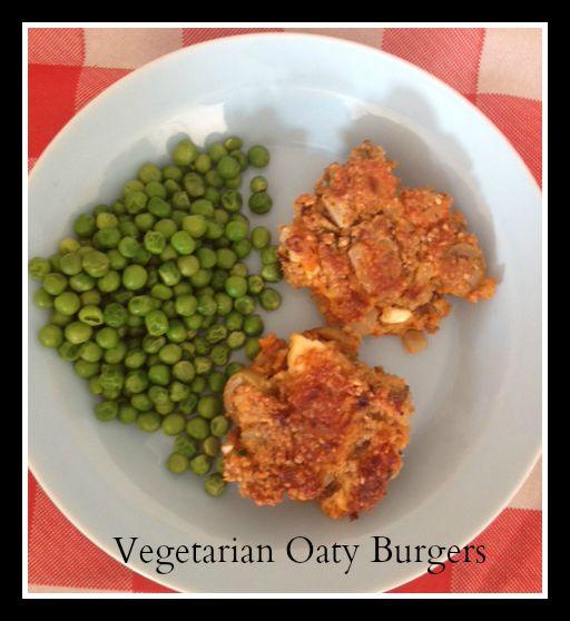 Vegetarian Mornflake Oaty Burgers