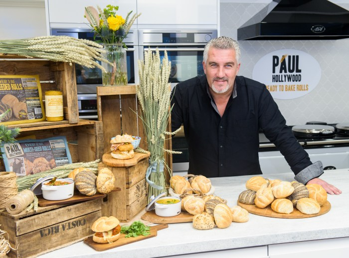 20151020 Copyright image 2015© Paul Hollywood, Ready to Bake Rolls CARRS FOODS LAUNCH PAUL HOLLYWOOD READY TO BAKE ROLLS The UK's most renowned baker, Paul Hollywood launches a delicious new range of ready to bake crusty bread rolls at the Good Housekeeping Institute, in central London today, Tuesday 20th October 2015. For further info please contact Catherine Webber catherine@nineteenpr.com 07798 801610 For photographic enquiries please call Anthony Upton 07973 830 517 or email info@anthonyupton.com This image is copyright Anthony Upton 2015©. This image has been supplied by Anthony Upton and must be credited Anthony Upton. The author is asserting his full Moral rights in relation to the publication of this image. All rights reserved. Rights for onward transmission of any image or file is not granted or implied. Changing or deleting Copyright information is illegal as specified in the Copyright, Design and Patents Act 1988. If you are in any way unsure of your right to publish this image please contact +447973 830 517 or email: info@anthonyupton.com