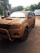 My faithful Hilux Toyota
