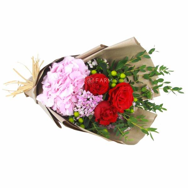 Laura Bouquet by Farm Florist Singapore Lying