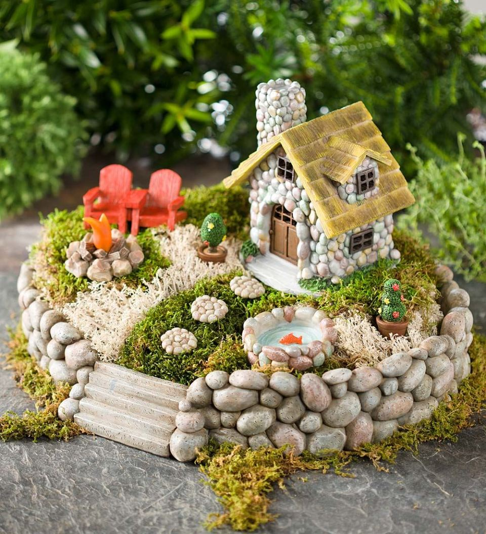 Fairy Garden Ideas: Summer In The Adirondacks
