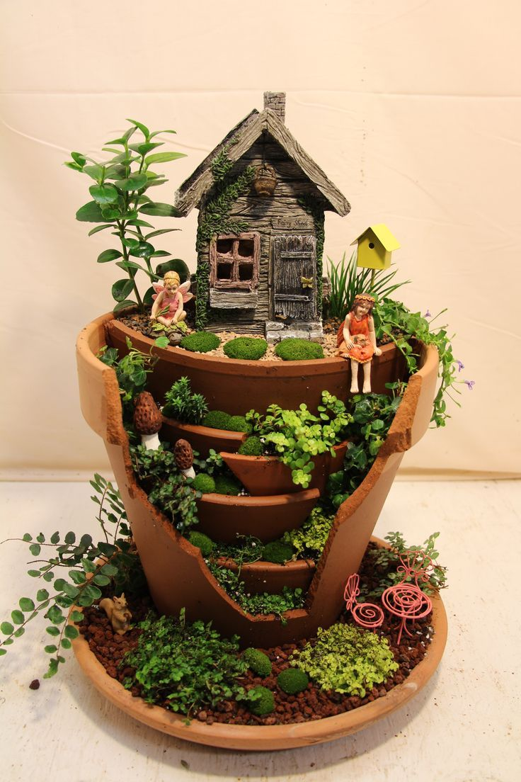Fairy Garden Ideas: Come To My Tree House!