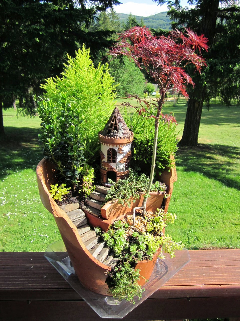 Fairy Garden Ideas: Castle In The Sky